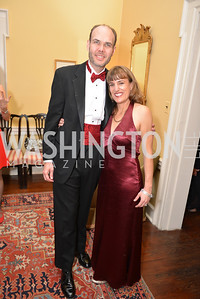 Rob Layden, Nancy Chabot, Capital City Ball at the City Tavern Club.  Saturday, November 23, 2013.  Photo by Ben Droz.
