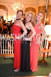 Tina Webb, Tatiana Pettit, Dierdre Lofft, 2Capital City Ball at the City Tavern Club.  Saturday, November 23, 2013.  Photo by Ben Droz.