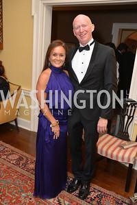 John Dunford, Lisa Williams, Capital City Ball at the City Tavern Club.  Saturday, November 23, 2013.  Photo by Ben Droz.