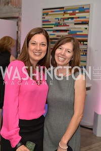 Wendy Rath, Maria Morgan, Capital for Children's Casino Night at LongvView Gallery.  Saturday, October 5, 2013.  Photo by Ben Droz