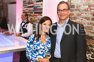 Jennifer Valdeck, David Valdeck, Capital for Children's Casino Night at LongvView Gallery.  Saturday, October 5, 2013.  Photo by Ben Droz