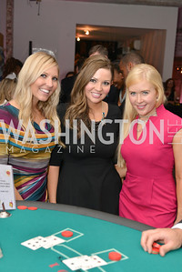 Amanda Goblesky,Cicely Fox, Meredith Jones, Capital for Children's Casino Night at LongvView Gallery.  Saturday, October 5, 2013.  Photo by Ben Droz
