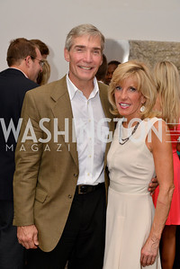 Frank Mellon, Christine Came, Capital for Children's Casino Night at LongvView Gallery.  Saturday, October 5, 2013.  Photo by Ben Droz