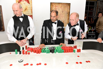 Steve Rothenberg, Talk of the Town, Capital for Children's Casino Night at LongvView Gallery.  Saturday, October 5, 2013.  Photo by Ben Droz
