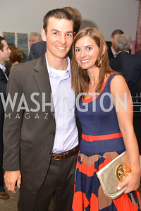Eric Christiansen, Sandy Christiansen, Capital for Children's Casino Night at LongvView Gallery.  Saturday, October 5, 2013.  Photo by Ben Droz