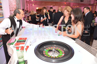 Devi Crooks, Tracy D'Angelo,Capital for Children's Casino Night at LongvView Gallery.  Saturday, October 5, 2013.  Photo by Ben Droz