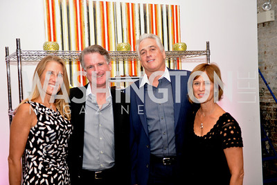 Melissa Barcomb, Ken Doyle, Jud Hill, Kathy Hill, Capital for Children's Casino Night at LongvView Gallery.  Saturday, October 5, 2013.  Photo by Ben Droz
