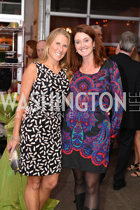 Melissa Barcomb, Mary Beth Blessing, Capital for Children's Casino Night at LongvView Gallery.  Saturday, October 5, 2013.  Photo by Ben Droz