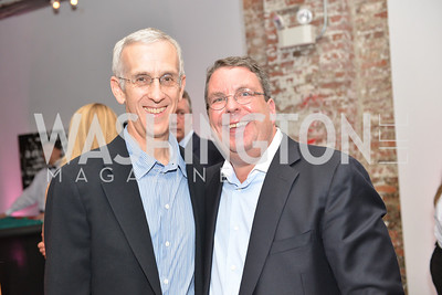 Todd Stern, Philip Deutch, Capital for Children's Casino Night at LongvView Gallery.  Saturday, October 5, 2013.  Photo by Ben Droz
