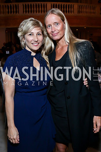 Debbie Fine, Brigitte Anders Kraus. Photo by Tony Powell. 2013 Caron Foundation Recovery for Life Gala. Museum of Women in the Arts. October 8, 2013