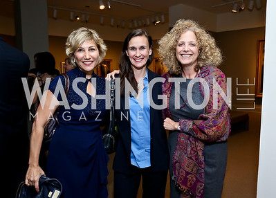 Debbie Fine, Kris van Riper, Laura Handman. Photo by Tony Powell. 2013 Caron Foundation Recovery for Life Gala. Museum of Women in the Arts. October 8, 2013