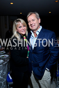 Lyn and Mark McFadden. Photo by Tony Powell. 2013 Caron Foundation Recovery for Life Gala. Museum of Women in the Arts. October 8, 2013