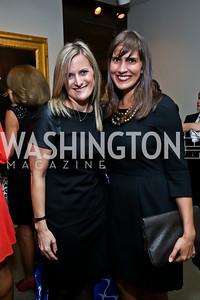 Tara Handron, Hilary Phelps. Photo by Tony Powell. 2013 Caron Foundation Recovery for Life Gala. Museum of Women in the Arts. October 8, 2013