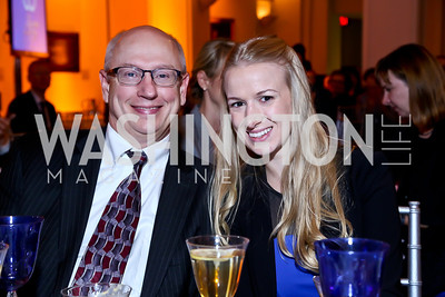 Jerry and Brianne Murphy. Photo by Tony Powell. 2013 Caron Foundation Recovery for Life Gala. Museum of Women in the Arts. October 8, 2013