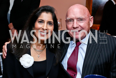 Drs. Anita Gadhia Smith and Ron Smith. Photo by Tony Powell. 2013 Caron Foundation Recovery for Life Gala. Museum of Women in the Arts. October 8, 2013