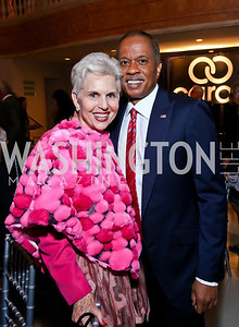 Jan DuPlain, Juan Williams. Photo by Tony Powell. 2013 Caron Foundation Recovery for Life Gala. Museum of Women in the Arts. October 8, 2013