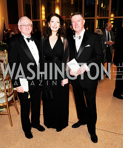 Tom Gallagher,Diane Dykstra,Doug Wheeler,March 2,2013,Cathedral Choral Society's Angel Of the Arts Award Gala,Kyle Samperton