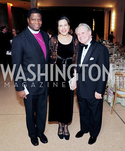 Bishop Eugene Sutton,Sonya Sutton,J.Reilly Lewis,March 2,2013,Cathedral Choral Society's Angel Of the Arts Award Gala,Kyle Samperton