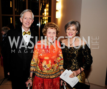 John Marshall,Barbara Gordon,Charlotte Marshall,March 2,2013,Cathedral Choral Society's Angel Of the Arts Award Gala,Kyle Samperton