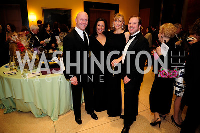 Jonathan Seigel,Anjanette  Murphy,Rhoda Wheeler,Will Wheeler,March 2,2013,Cathedral Choral Society's Angel Of the Arts Award Gala,Kyle Samperton