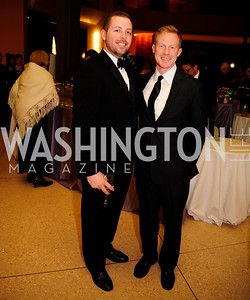 Roger Whyte,Jared Silk,March 2,2013,Cathedral Choral Society's Angel Of the Arts Award Gala,Kyle Samperton
