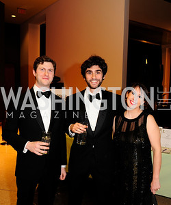 Franco Impala, Matteo Faini,Domitilla Gacci,March 2,2013,Cathedral Choral Society's Angel Of the Arts Award Gala,Kyle Samperton