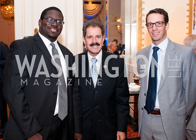 Donald Sherman, Congressman Jose Serrano and Phillip Shmidt
