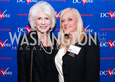 Diane Rehm and DC Vote board member Trish Vradenberg