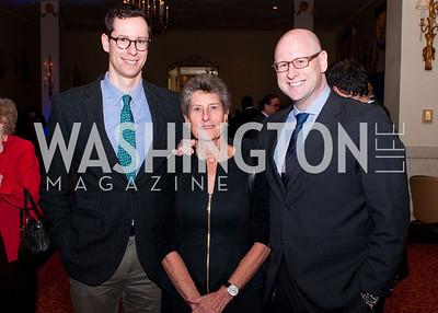 Noah Stein, Moriah Fund president Mary Ann Stein and Gideon Stein