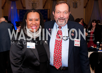 DC Vote executive director Kimberly Perry and Nelson Rimensnyder