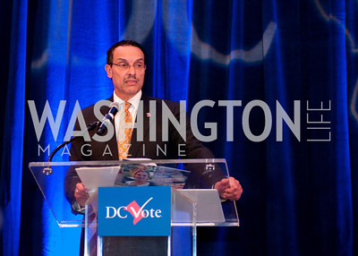 Mayor Vincent Gray speaks about the DC Vote issues
