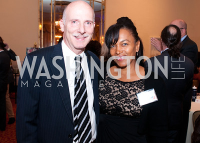 DC City Council Chairman Phil Mendelson and Paris Perrault