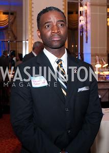 Jackson Caesar listens to members of the DC Vote board speak