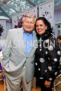 Alex and Susan Mandl. Photo by Tony Powell. CharityWorks 100 Point Vintage Wine Tasting. Mandl Residence. May 18, 2013
