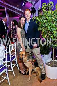 Sarah and Tim Fallon. Photo by Tony Powell. CharityWorks 100 Point Vintage Wine Tasting. Mandl Residence. May 18, 2013
