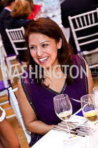 Diana Villarreal. Photo by Tony Powell. CharityWorks 100 Point Vintage Wine Tasting. Mandl Residence. May 18, 2013