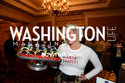 Kimberly Robinson, owner of Makin' Whoopie  Chefs For Equality benefit for HRC. October 30, 2013. Photo by Neshan H. Naltchayan