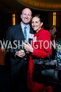 Scott and Danielle Garten. Photo by Tony Powell. Children's Law Center Helping Children Soar Benefit. Kennedy Center. September 17, 2013