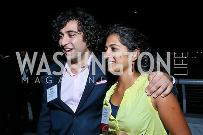 Nima Veiseh, Priya Sundareshan. Photo by Tony Powell. Children's Law Center Helping Children Soar Benefit. Kennedy Center. September 17, 2013
