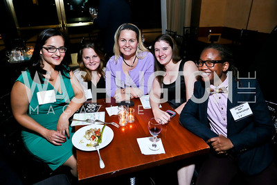 Oliya Zamaray, Tory Burk, Lauren Jenkins, Michelle Evans, Gwendolyn Rogers. Photo by Tony Powell. Children's Law Center Helping Children Soar Benefit. Kennedy Center. September 17, 2013