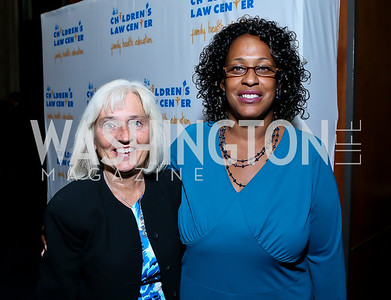 Judith Owens, Betty Washington. Photo by Tony Powell. Children's Law Center Helping Children Soar Benefit. Kennedy Center. September 17, 2013