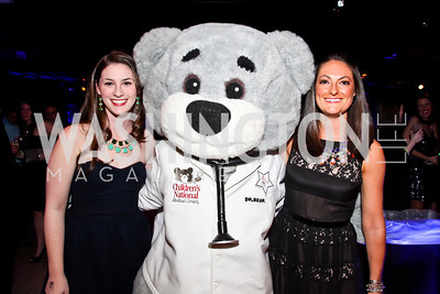 "Anna Cloeter, Dr. Bear, Abbey Maglaris. Photo by Tony Powell. Children's National Junior Council ""Dancing After Dark."" House of Sweden. January 26, 2013"