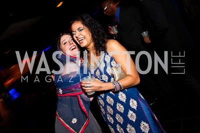 "Maria DiPillo, Sonali Patel. Photo by Tony Powell. Children's National Junior Council ""Dancing After Dark."" House of Sweden. January 26, 2013"