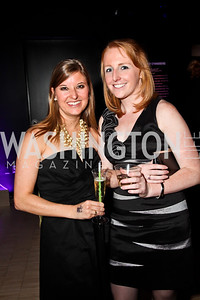 """Jen Woodard, Lis Stein. Photo by Tony Powell. Children's National Junior Council """"Dancing After Dark."""" House of Sweden. January 26, 2013"""