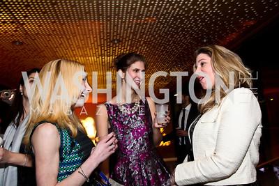 "Melanie Gowen, Catie Gwaltney, Abigail Powell. Photo by Tony Powell. Children's National Junior Council ""Dancing After Dark."" House of Sweden. January 26, 2013"