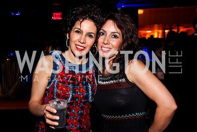 "Marjan and Mina Roshan. Photo by Tony Powell. Children's National Junior Council ""Dancing After Dark."" House of Sweden. January 26, 2013"