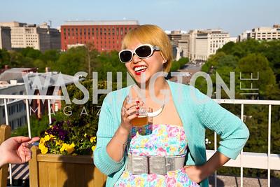 Kira Wisniewski. Photo by Tony Powell. Cocktails with 826 DC. Kimsey Foundation. April 26, 2013
