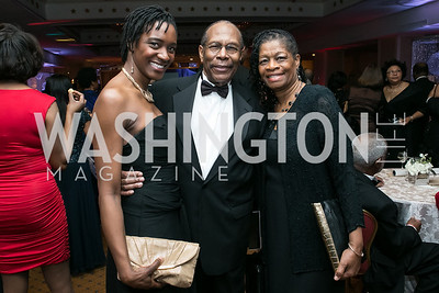 Kadija Bangura, Dwight Ellis, Patricia Richardson. Photo by Alfredo Flores. Congressional Black Caucus Foundation Inaugural Gala & Celebration. Capital Hilton Hotel. January 21, 2013.