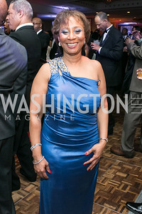 Muriel Hairston-Cooper. Photo by Alfredo Flores. Congressional Black Caucus Foundation Inaugural Gala & Celebration. Capital Hilton Hotel. January 21, 2013.