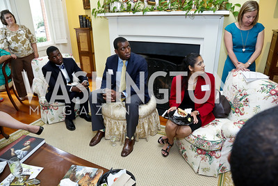 Photo by Tony Powell. CCAI Foster Youth Internship Luncheon. Residence of Senator Mary Landrieu. June 12, 2013